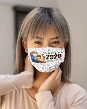 nurse girl 2020 heros mas Cloth Face Mask - 3 Pack aos-face-mask-lifestyle-18