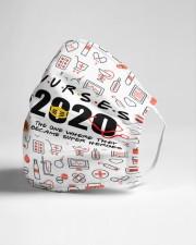 nurse girl 2020 heros mas Cloth Face Mask - 3 Pack aos-face-mask-lifestyle-21