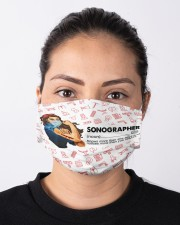 Vintage mas sonographer Cloth Face Mask - 3 Pack aos-face-mask-lifestyle-01