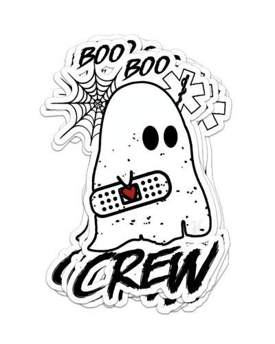 Paramedic sticker Boo Boo Crew