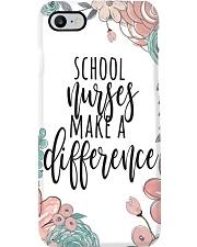 School Nurse Difference Phone Case i-phone-8-case