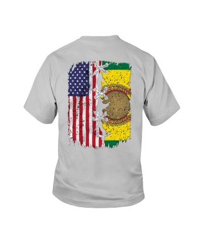 vietnam veteran flag us flag