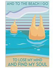 molar-beach 11x17 Poster front