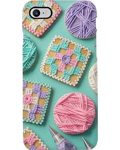 crochet candy case