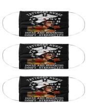 tattooed nurse mas Cloth Face Mask - 3 Pack front