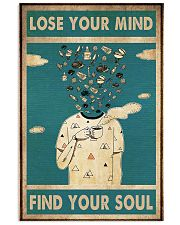 loose mind grill 24x36 Poster front