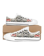 stack-glass-shoe Men's Low Top White Shoes inside-right-outside-right