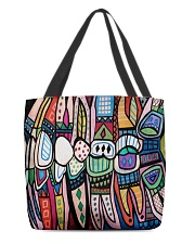 Dental abstract 2506 2 tote All-over Tote front