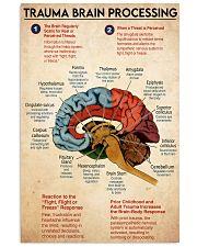 trauma brain process 11x17 Poster front