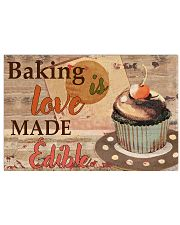 baking love edible  17x11 Poster front