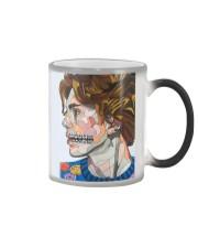 dentistry abstrac Color Changing Mug tile