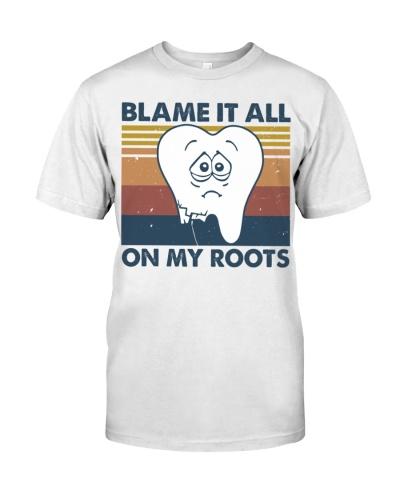 blame root dentist