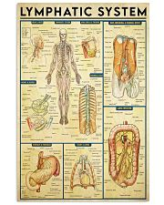 Lymphatic system 24x36 Poster front