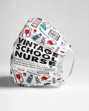 School Nurse Vintage Cloth Face Mask - 3 Pack aos-face-mask-lifestyle-21