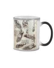 podiatry vintage anatomy Color Changing Mug tile