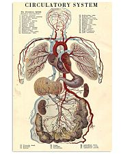 circulatory system 24x36 Poster front