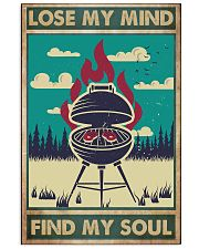 lose mind bbq 24x36 Poster front