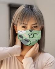 nurse scrub mask 4 Cloth Face Mask - 3 Pack aos-face-mask-lifestyle-18