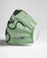 nurse scrub mask 4 Cloth Face Mask - 3 Pack aos-face-mask-lifestyle-21