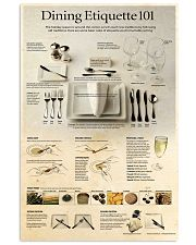 dining 101  24x36 Poster front