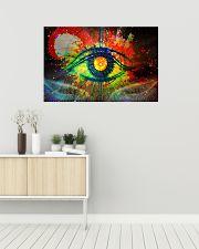 Eye colorful dvhd-pml 36x24 Poster poster-landscape-36x24-lifestyle-01