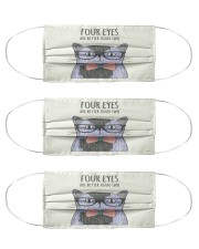 4eyes Cloth Face Mask - 3 Pack front