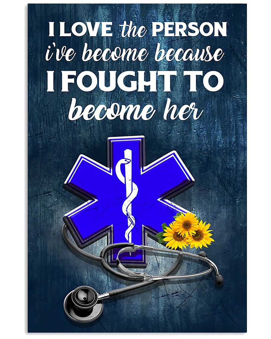 paramedic-fought-her 11x17 Poster