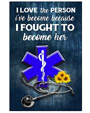 paramedic-fought-her 11x17 Poster front