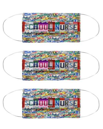 plate mask school nurse