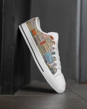 pharmacy-vintage-label Men's Low Top White Shoes aos-complex-men-white-high-low-shoes-lifestyle-outside-right-02