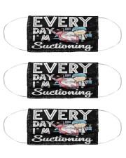 Everyday Suctioning Dentist Assistant mas Cloth Face Mask - 3 Pack front