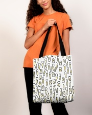 Tote Teeth All-over Tote aos-all-over-tote-lifestyle-front-06