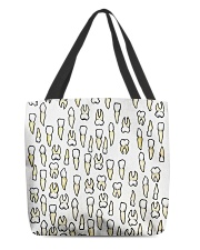 Tote Teeth All-over Tote front