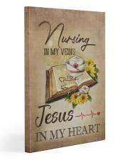 nurse jesus vein 20x30 Gallery Wrapped Canvas Prints front
