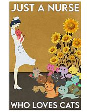 nurse love cat 11x17 Poster front