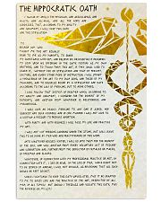 nurse oath 11x17 Poster front