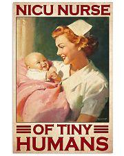 Nicu nurse tiny humans 11x17 Poster front