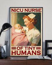 Nicu nurse tiny humans 11x17 Poster lifestyle-poster-2