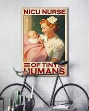Nicu nurse tiny humans 11x17 Poster lifestyle-poster-7