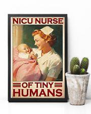 Nicu nurse tiny humans 11x17 Poster lifestyle-poster-8