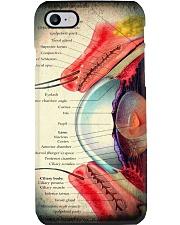 eye anatomy case  Phone Case i-phone-8-case
