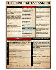 shift critical assessment 24x36 Poster front