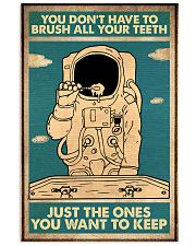 brush teeth astro  11x17 Poster front