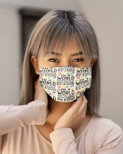 counselor be kind mas Cloth Face Mask - 3 Pack aos-face-mask-lifestyle-18
