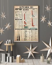 kitchen 101 24x36 Poster lifestyle-holiday-poster-1