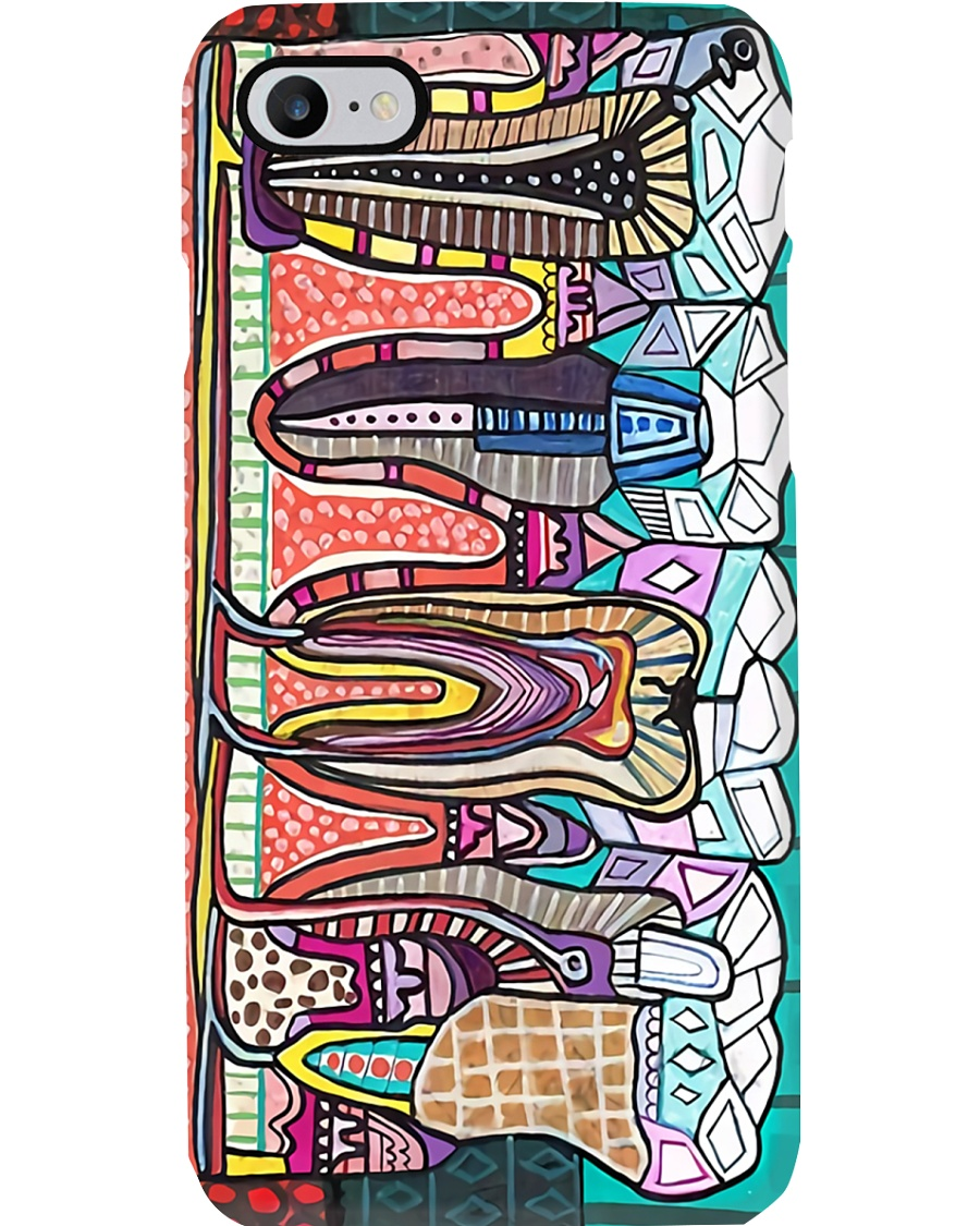 dental-abstract-case1 Phone Case