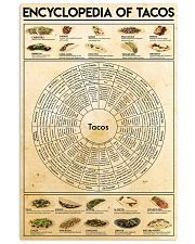 Taco-chart 24x36 Poster front