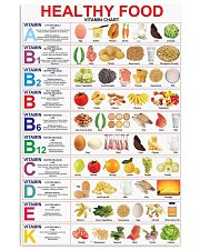 healthy food 11x17 Poster front