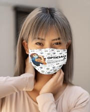 Vintage mas optician Cloth Face Mask - 3 Pack aos-face-mask-lifestyle-18