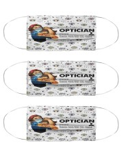 Vintage mas optician Cloth Face Mask - 3 Pack front